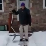 After A Minnesota Snowfall, This Man Shoveled His Neighbor's Snow — He's Also 101
