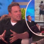 Ben Affleck Defends His VERY REAL Huge Back Tattoo On 'Ellen'! – Perez Hilton