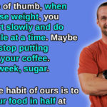 10 Real Life Hacks for Losing Weight That Aren't Crash Dieting
