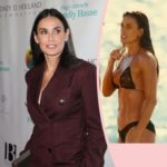 Once-Ripped Demi Moore Reveals She Hasn't Worked Out In FOUR YEARS! - Perez Hilton
