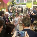 Couple get married at Whole Food