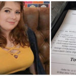 Girl Left Feeling Humiliated After Waitress Leaves Upsetting Comment On Her Bill