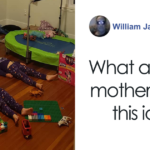 Mom Tells Kids They Need To Stay Still To Charge Glow-In-The-Dark PJs